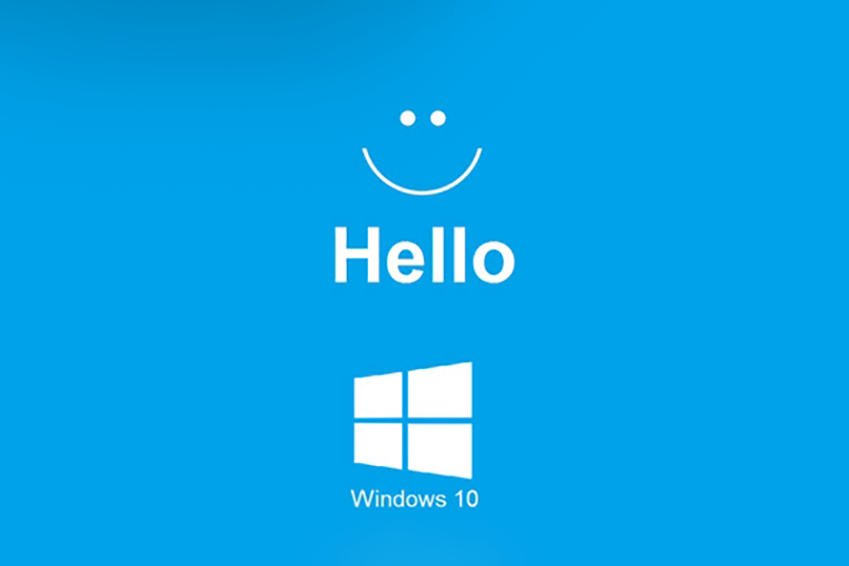 pantalla de windows hello